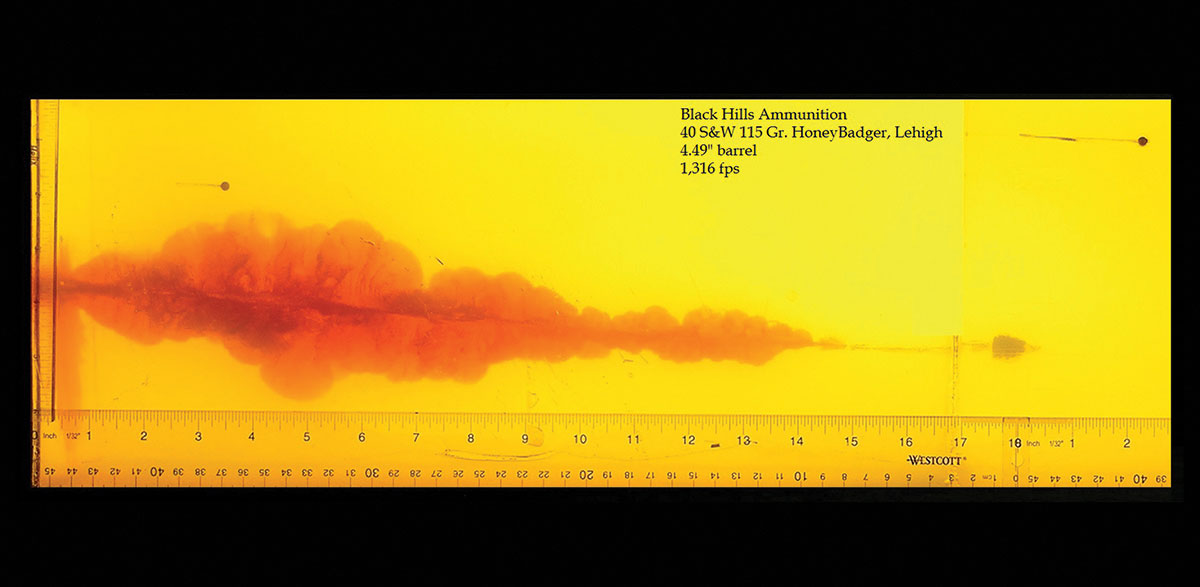40 Smith & Wesson HoneyBadger™ | Black Hills Ammunition